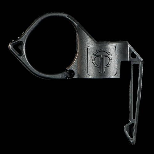 Black SwitchBack Large 2.0 Flashlight Ring