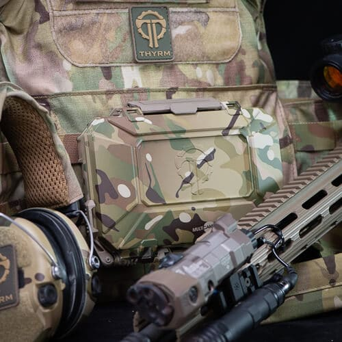 Multicam DarkVault matches well with other Multicam gear