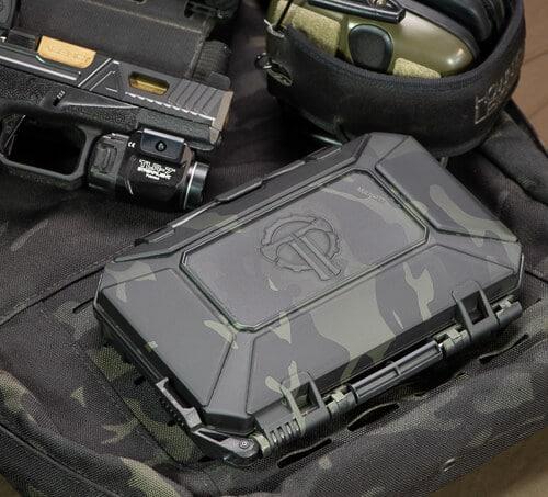 Multicam Black DarkVault Comms case matches other Multicam Black gear