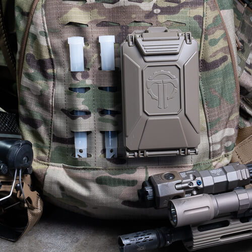 CellVault-5M Modular Battery Storage mounts to MOLLE