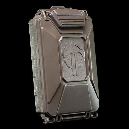 CellVault-5M Modular Battery Storage in Olive Drab