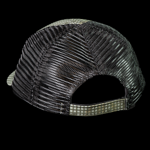 DNC Hat has velcro closure and breathable mesh back